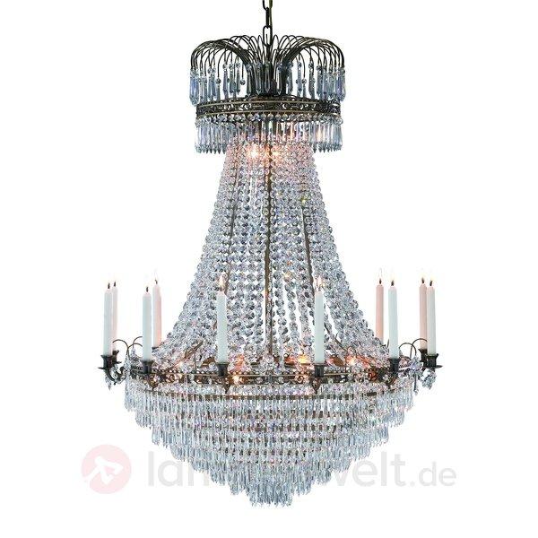 Riesiger Kerzen Kronleuchter Mit 12 Kerzenhaltern U2013 92 Cm
