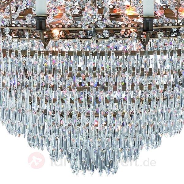 riesiger Kerzen-Kronleuchter mit 12 Kerzenhaltern – 92 cm ...